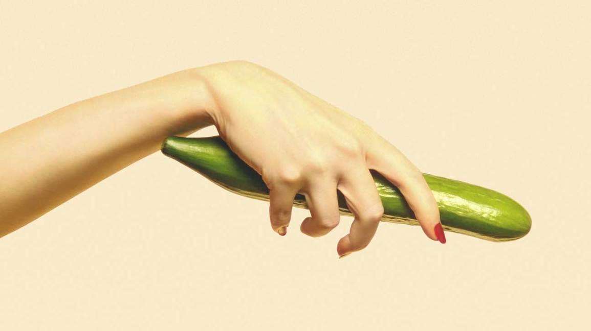 Vagina Facial With Cucumbers