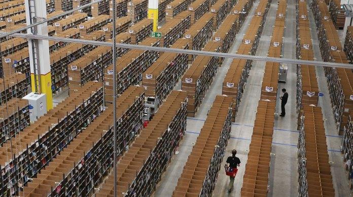 Amazon food warehouse