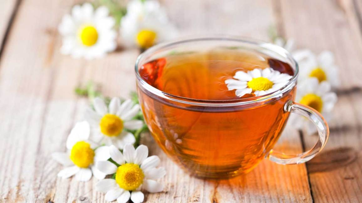 Burn fat With Chamomile Infusion