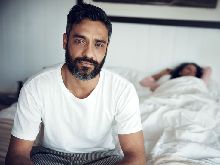 Male sexual dysfunction because of depression