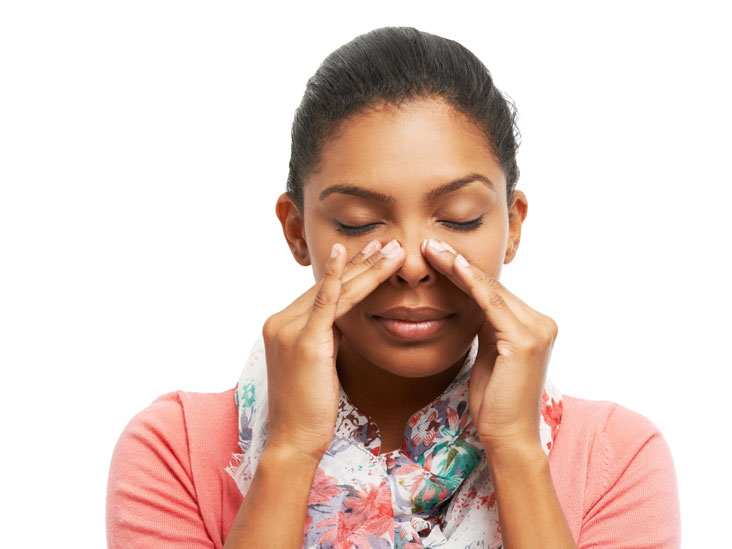 Chronic inability to smell sexual dysfunction