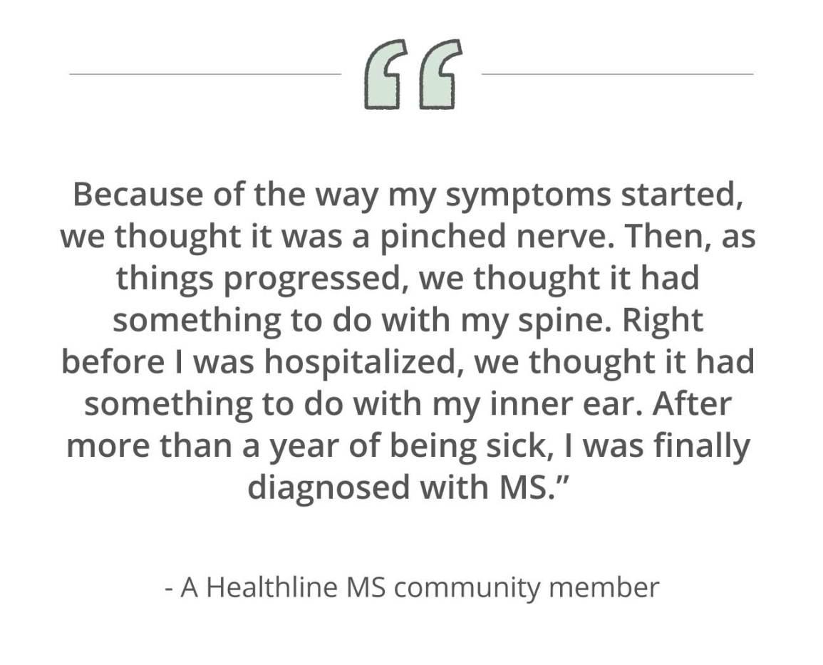 ms misdiagnosis quote