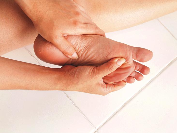 burn on bottom of foot treatment