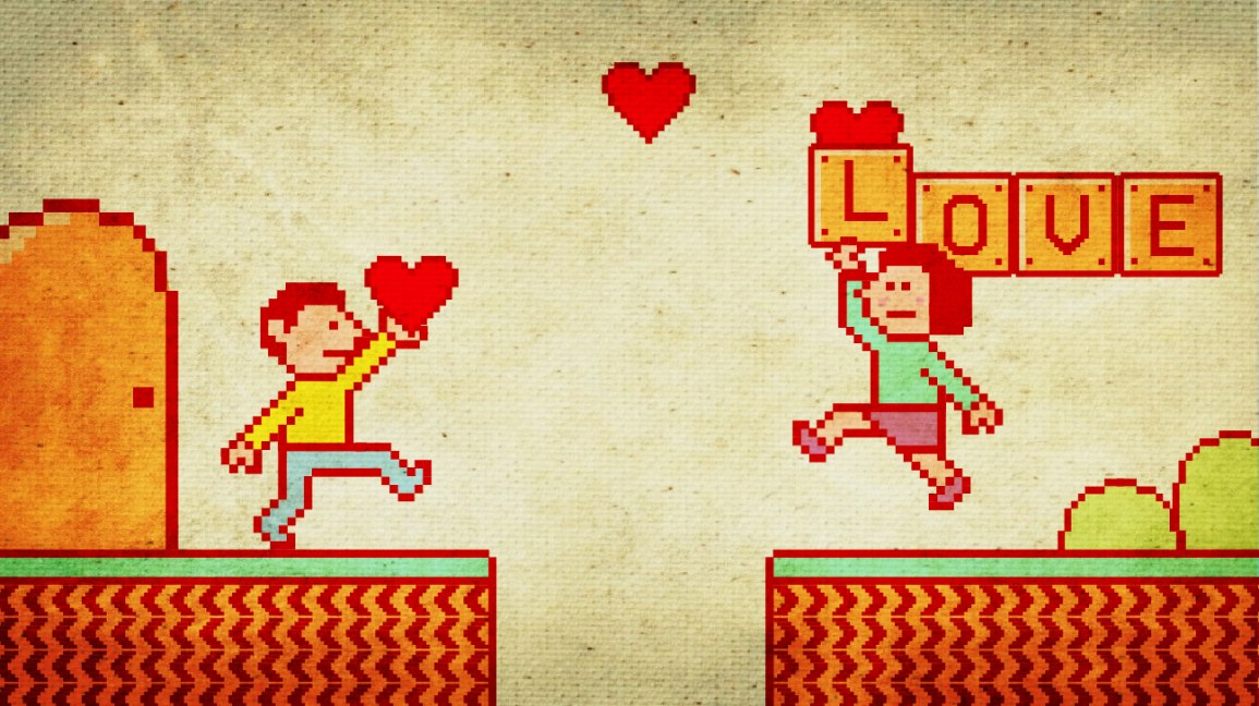 can you fall in love online