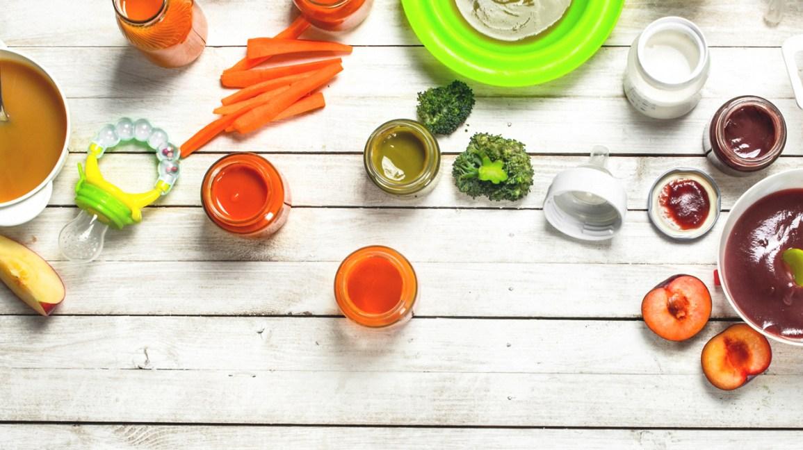21 Homemade Baby Food Recipes