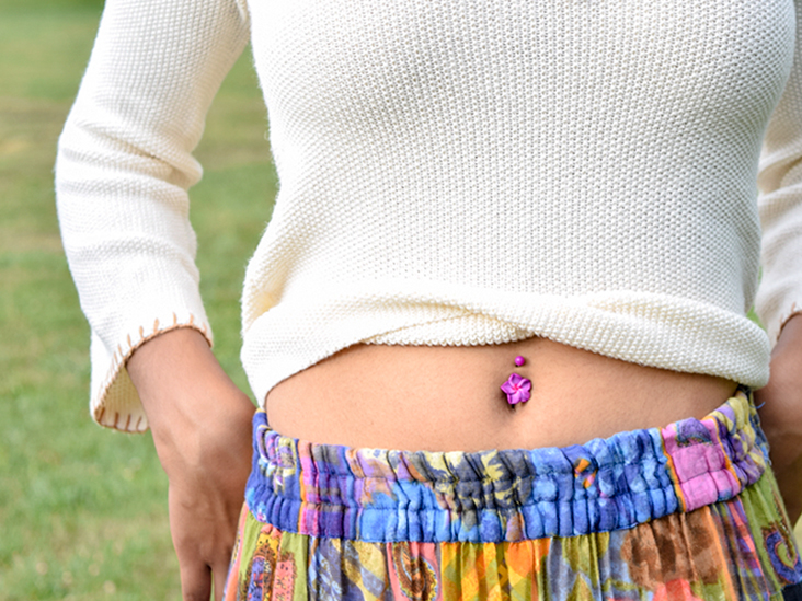 Belly Button Piercing Your Piercer Aftercare Infection And More