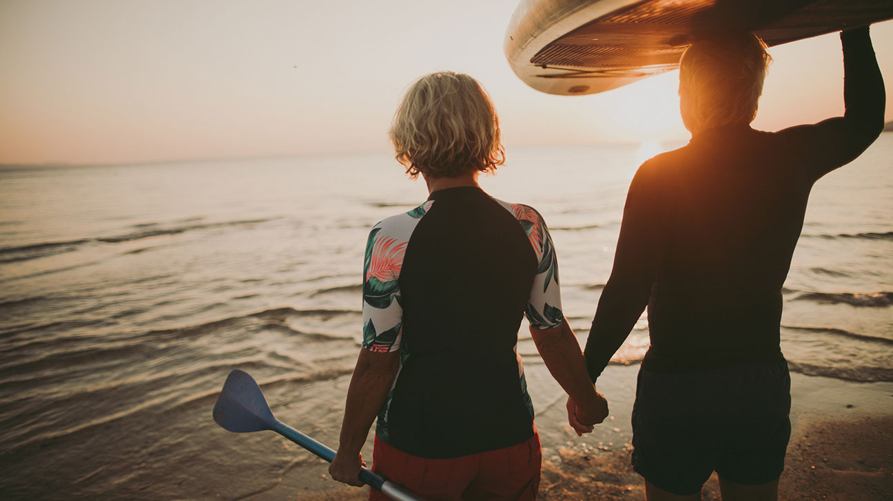 Menopause with subsequent decreased sex drive