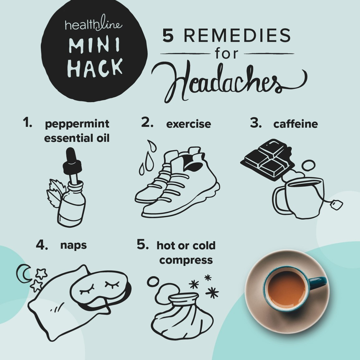 5 Easy Remedies to Try for a Headache