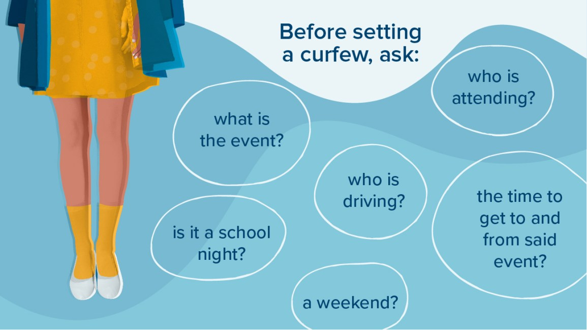 reasons why teenagers should have a curfew