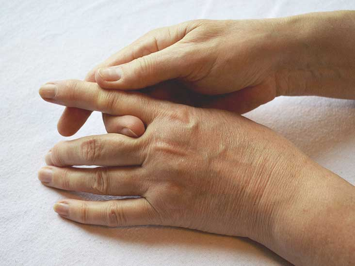 Think, cannot bend finger into fist
