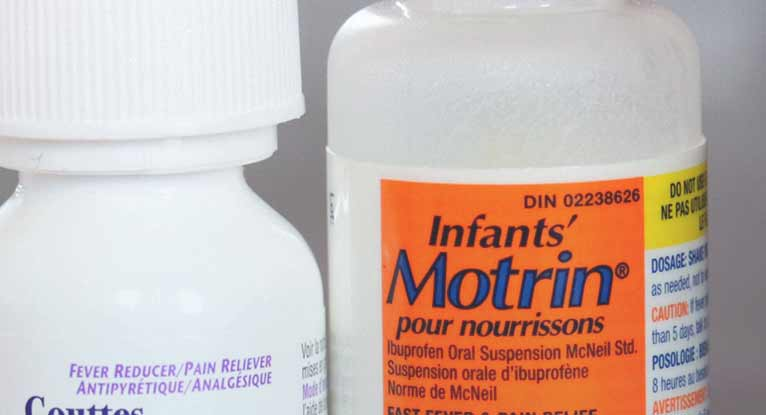 What's the Infant Dosage for Motrin?