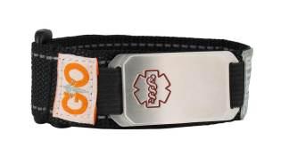Stainless Steel Velcro Flex Sportband