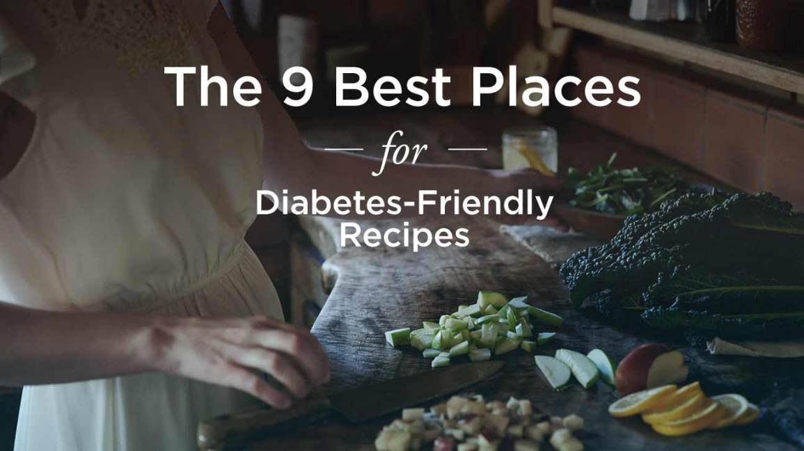 best places to find diabetes recipes