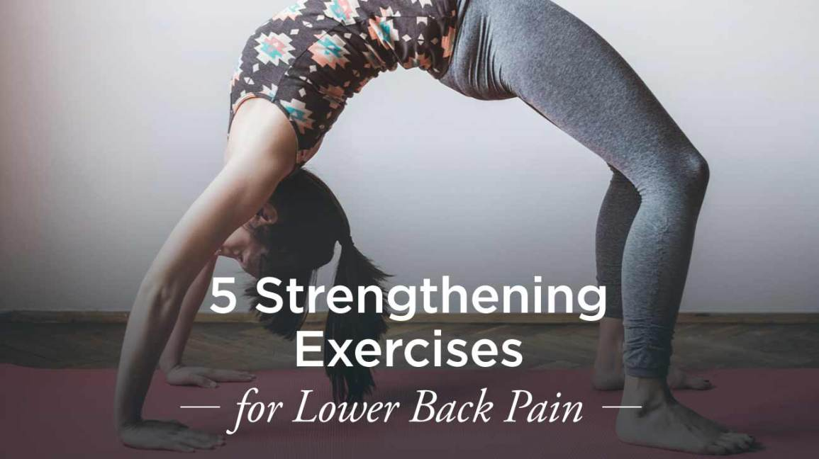 exercises for lower back to strengthen