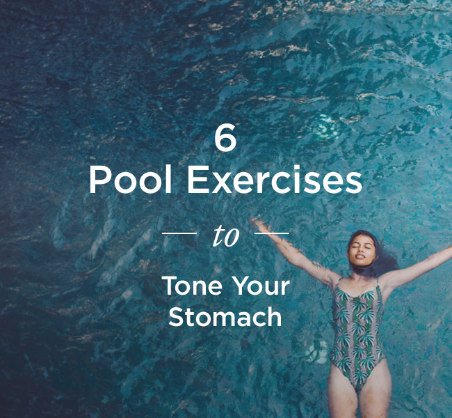 what does swimming work out