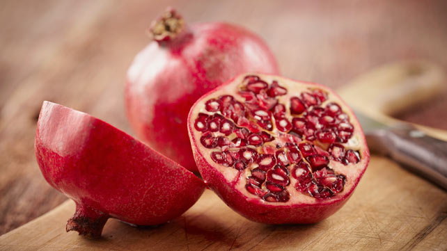 Do you spit out the pomegranate seeds