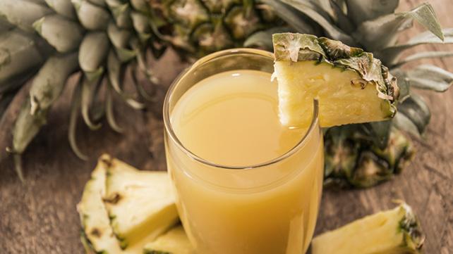 Pineapple juice cum