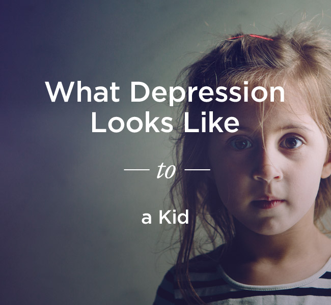 What Depression Looks Like to a Child