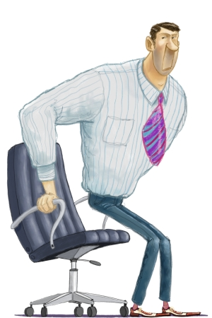 office chair you sit backwards who reupholstered chairs 10 things that happen when down all day