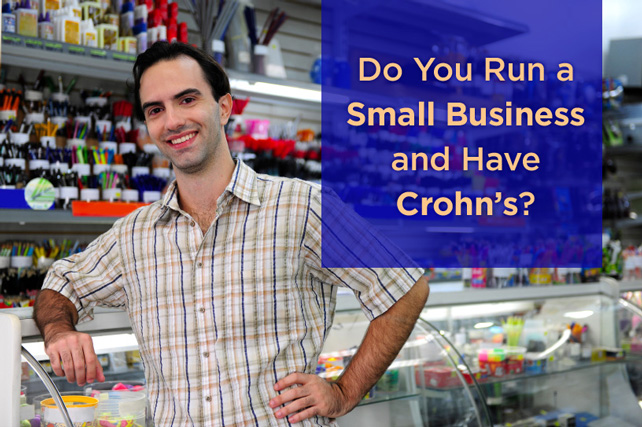 small business owner with Crohns