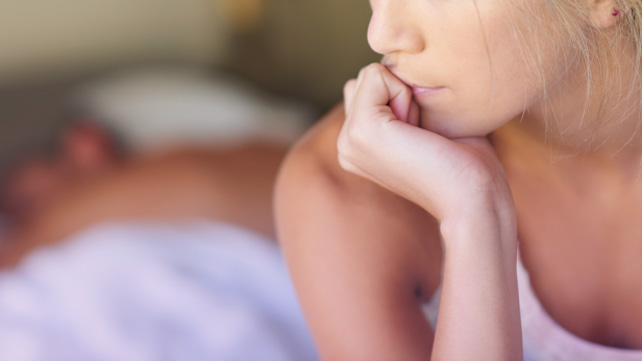 Postmenopausal sexual pain
