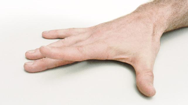 Fingerlifting Übung