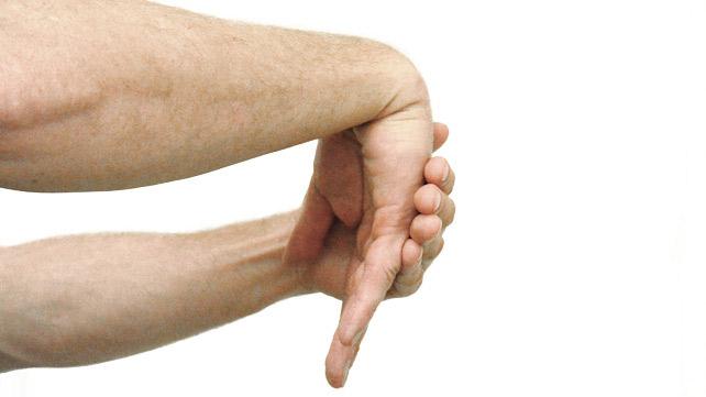 Handgelenk strecken