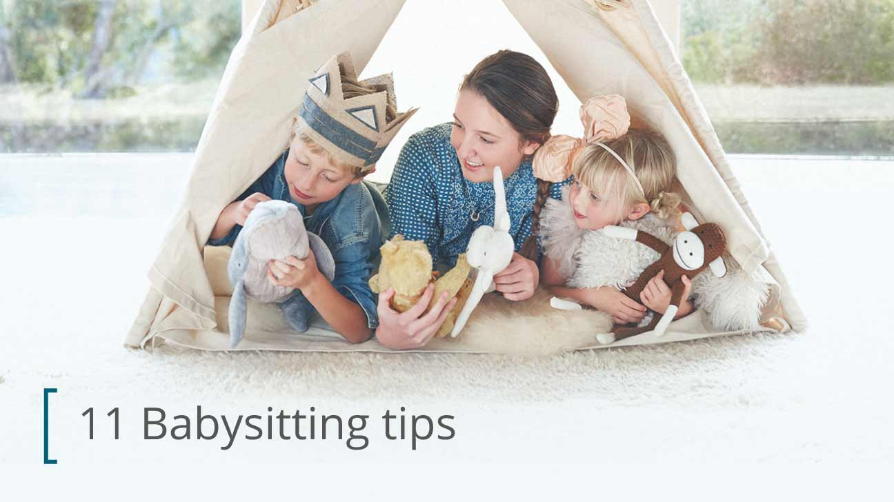 Are Babysitting for adult babies excellent message))