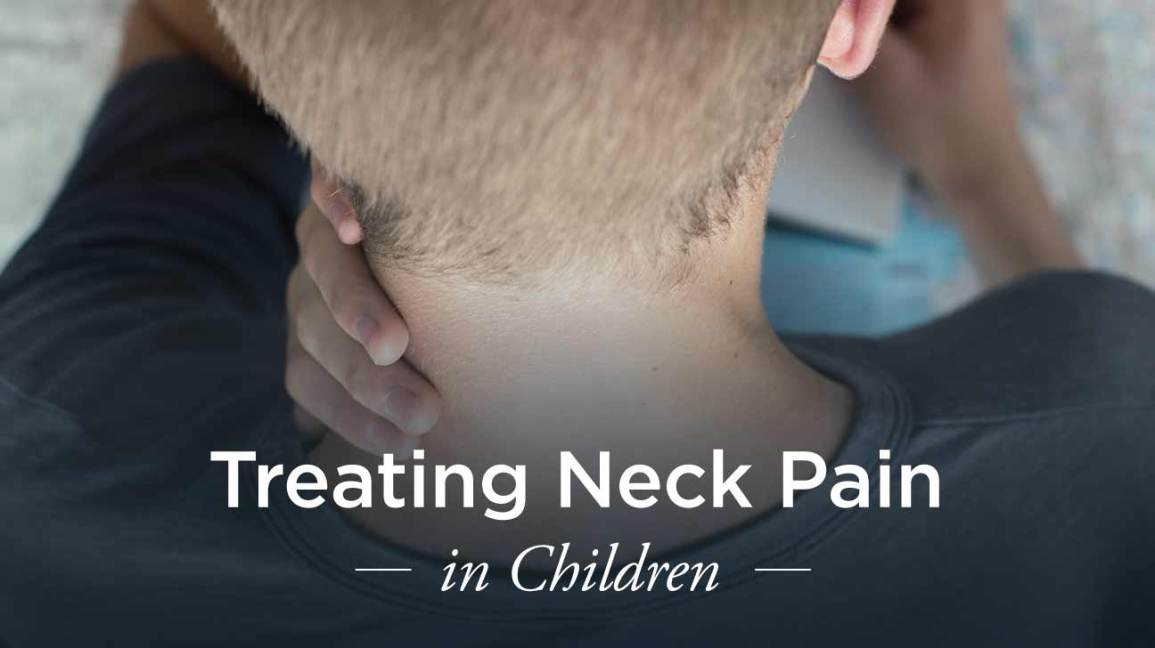 Neck Pain in Children