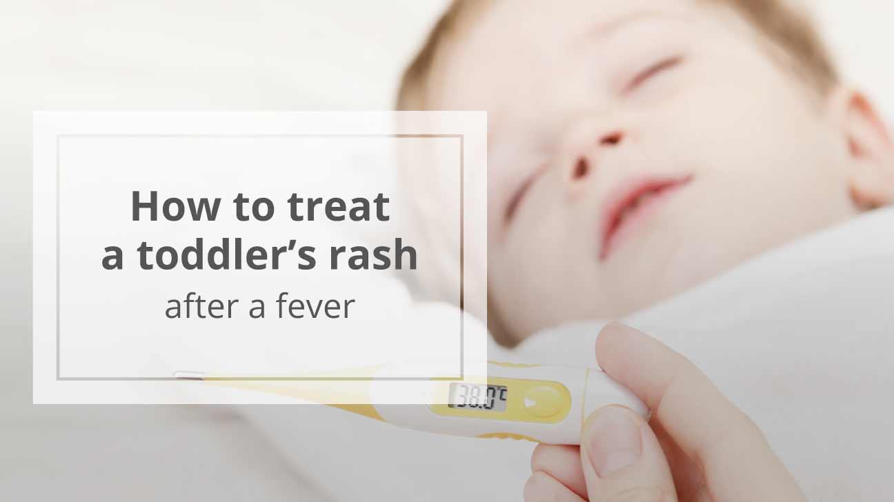 Infant facial rash fever photo 694