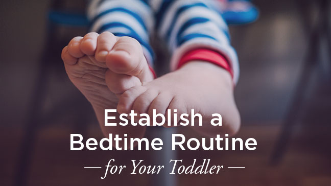 Toddler bedtime routine