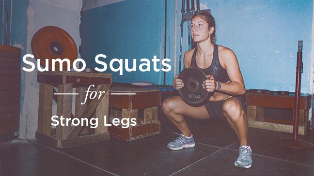 Sumo squat benefits