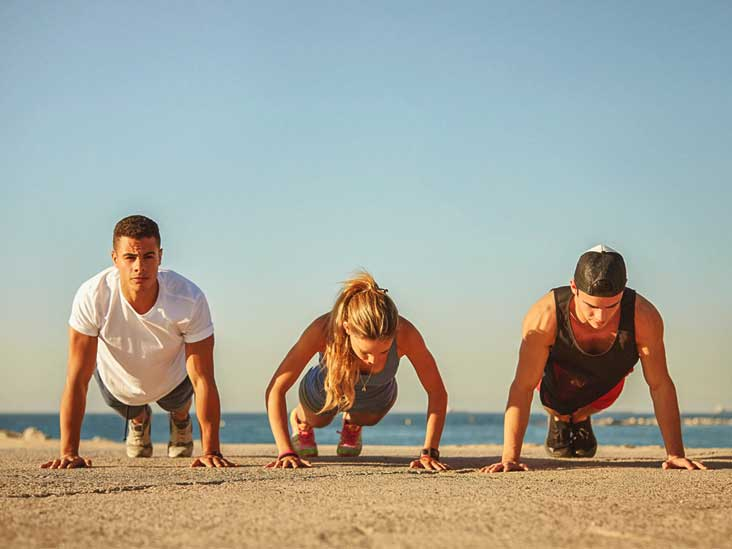 pushups every day what are the benefits and risks