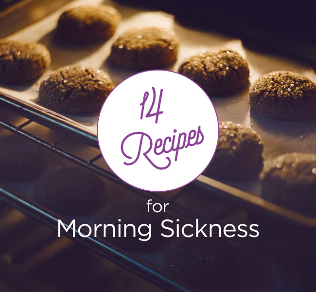 14 Morning Sickness Recipes