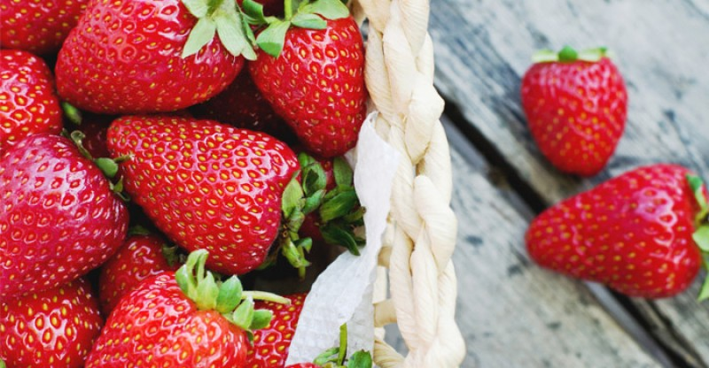 why eating strawberries is good for health