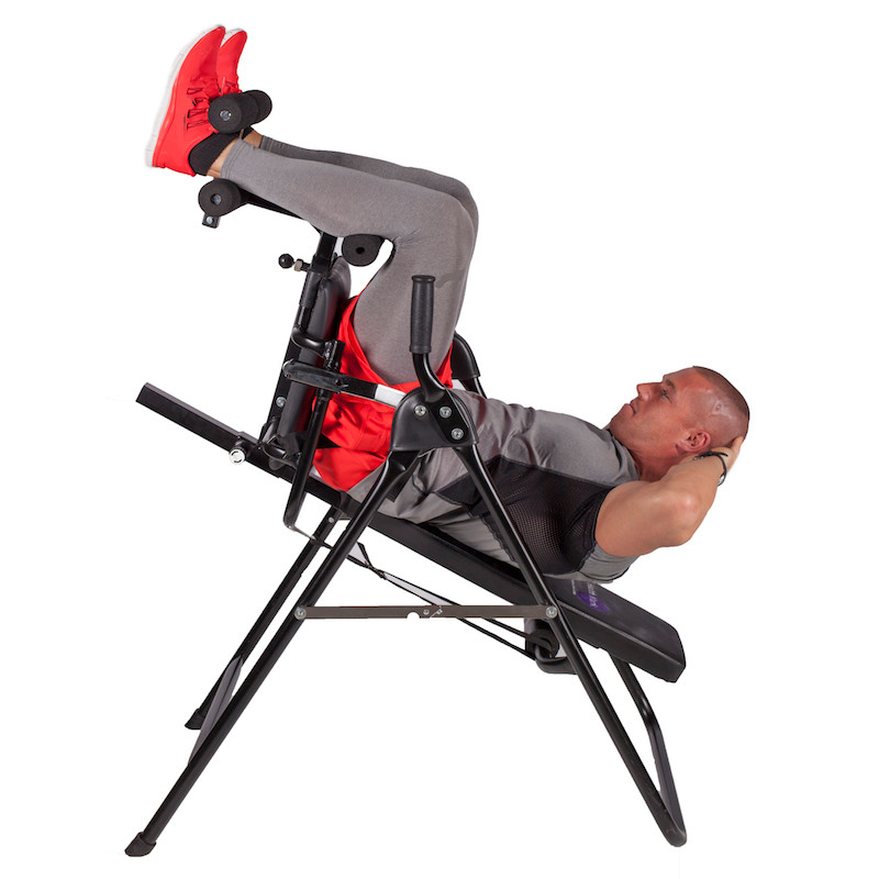 spinal decompression chair stackable resin chairs core inversion back table health mark inc