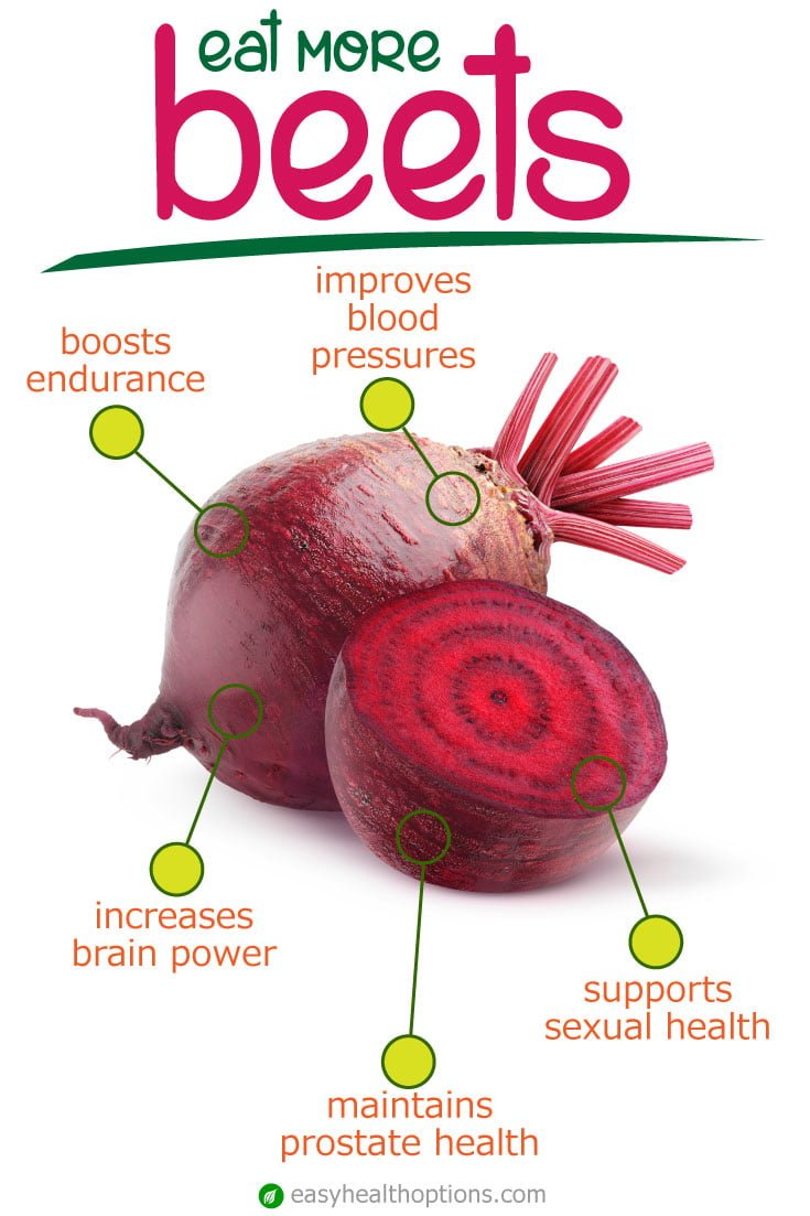 The health benefits of beets [infographic]