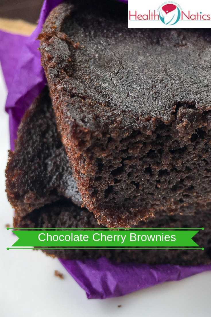 Easy Chocolate Cherry Brownies