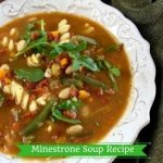 Hearty and Easy Minestrone Soup Recipe with Fresh Arugula