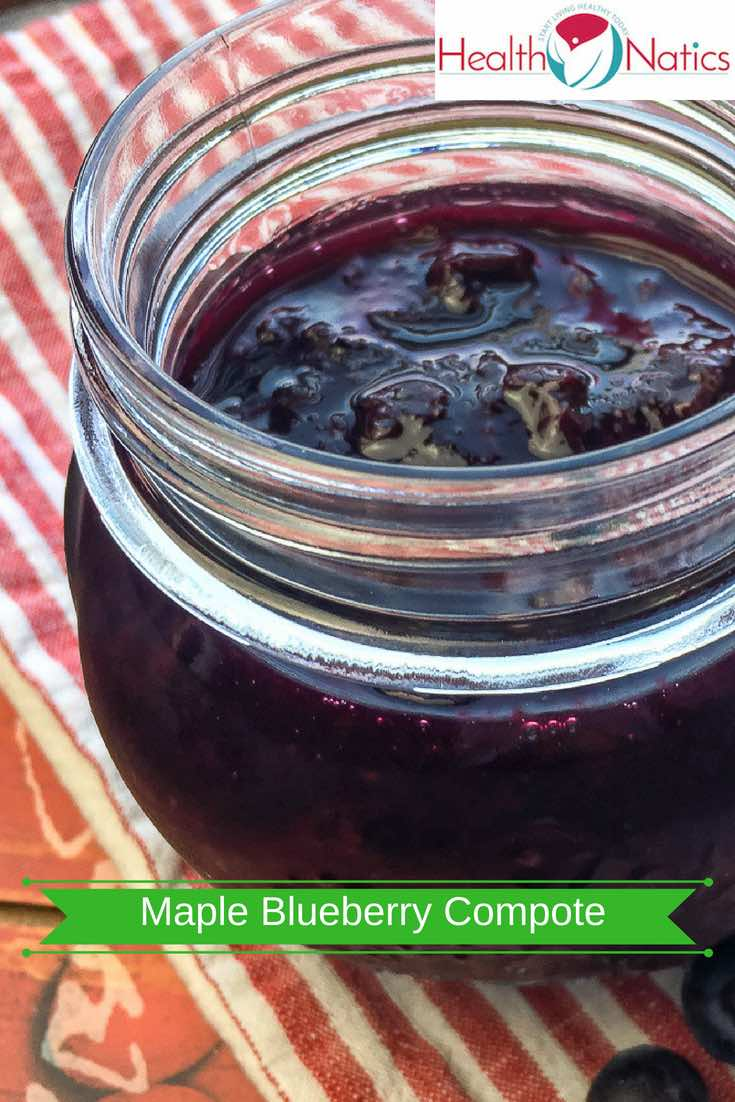 Instant Pot Maple Blueberry Compote Recipe