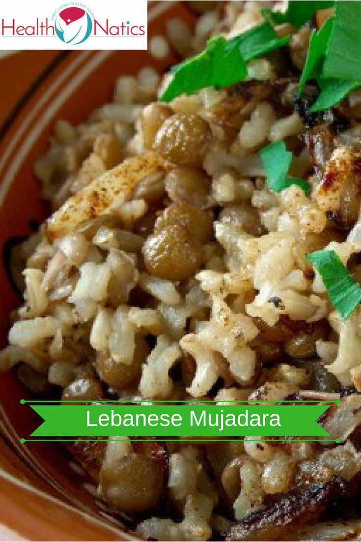 Lebanese Mujadara Recipe (HOW TO MAKE LENTILS AND RICE)