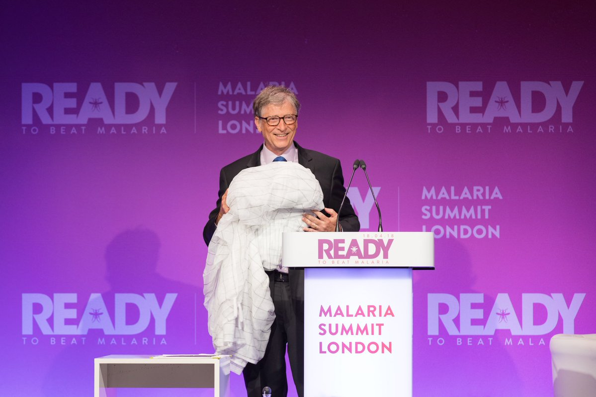 Bill Gates warns Commonwealth leaders the fight against malaria could 'go backwards'