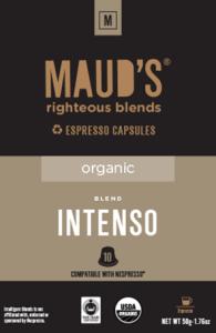 Organic Intenso Espresso capsules, 20ct.-160ct.