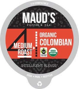 Organic Colombian Coffee Pods