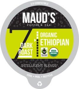 Organic Ethiopian Coffee Pods