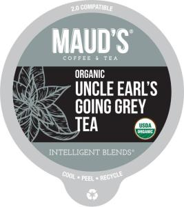 Organic Earl Grey Tea Pods
