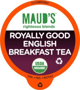 Organic English Breakfast Tea Pods - 24ct