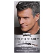 men touch of grey hair