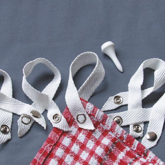 kitchen organisers aid artisan mixer health pride - clip & loop tea towel hangers