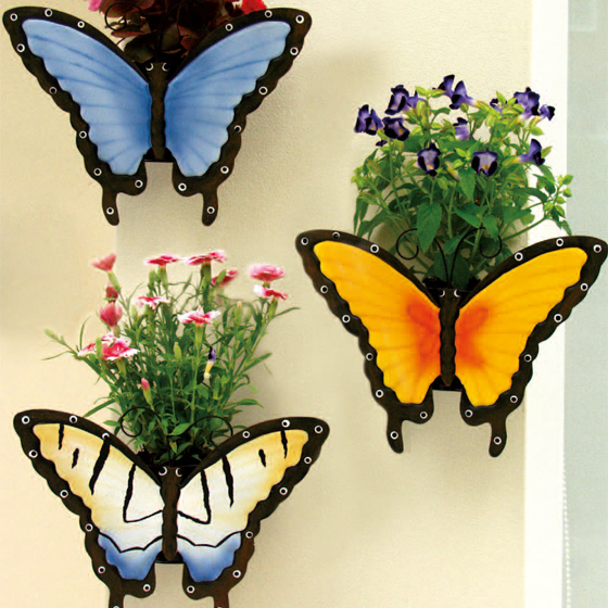 Health Pride  Outdoor Butterfly Planter Set of 3